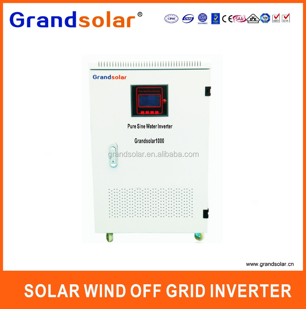 1000W 1KW DC TO AC 110 120 220 230 240 V PURE SINE SINGLE PHASE OFF GRID SOLAR POWER UPS INVERTER