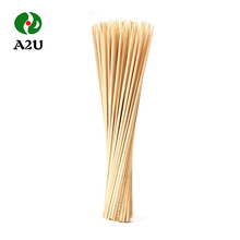 China Personalized Disposable Natural Bamboo Barbeque Large Skewers BBQ