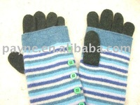 2011 newest designed fashion knitted gloves