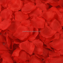 Wholesale wedding rose petals garlands,wedding silk petal garland (AM-FP-010)