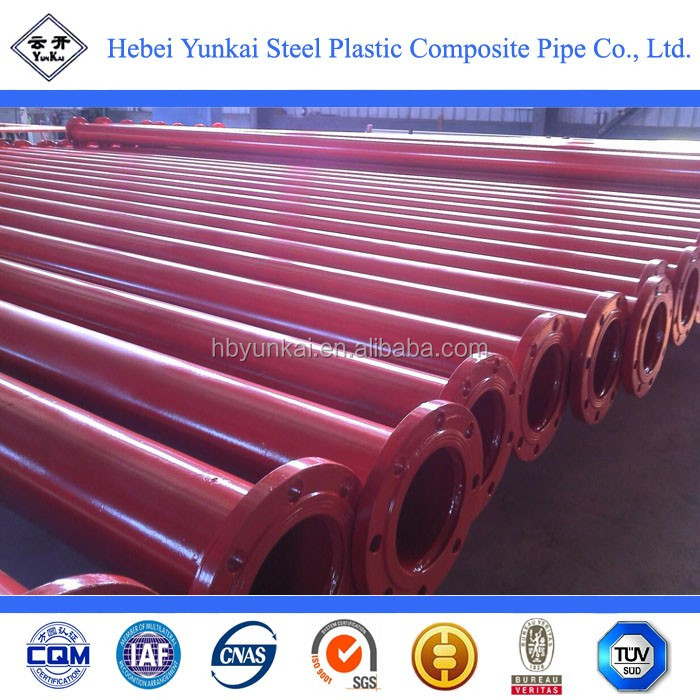 Fire water system pipe/fire extinguisher pipe/fire sprinkler pipe