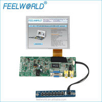 5-inch LCD Touch Module & Kit 640x480 with Resistive Touch, Remote Control