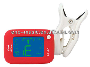 Eno many color for choice newest mini design electronic clip on tuner