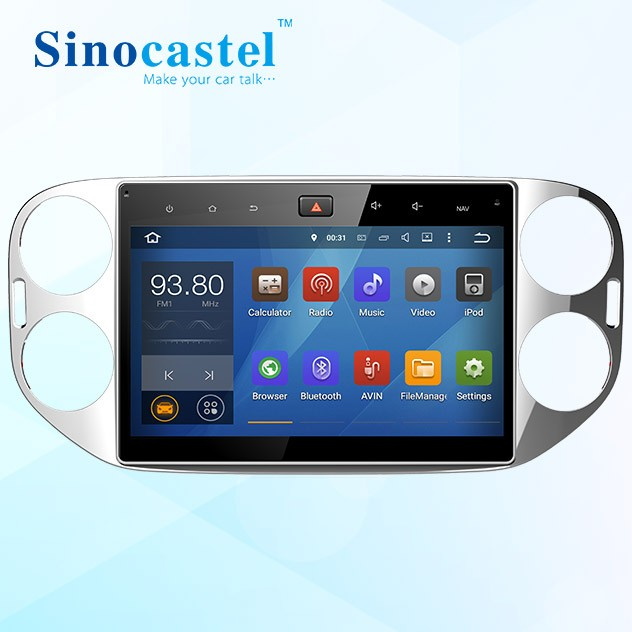 Wholesale Android 5.1.1 GPS Navigation system radio support reversing camera DVR Google play bluetooth Car DVD player