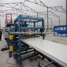 Polystyrene foam sheet making machine/Cold Room Sandwich EPS Panel Production Line Roll Forming Machine