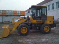 Mechanical Control Compact Loader 1.6T Mini Wheel Loader Made In China