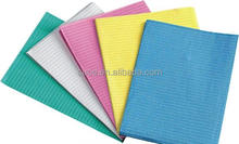 Colorful Disposable dental bibs/dental napkin CE FDA approved