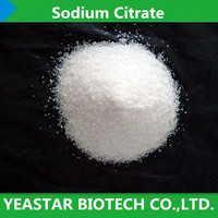 Food Additives Sodium Citrate Powder Citric