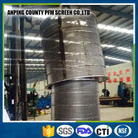Stainless Steel Wedge Wire Filter Well Screen Pipe