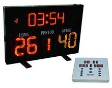 LED portable electronic digital basketball sport scoreboard