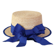 Wholesale Boater Hat China Raffia paper straw hat suppliers