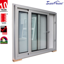 european style aluminium frame sliding glass window