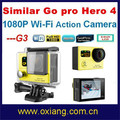 Similar Go pro 4 1080P helmet / motorbike / bicycle / car dv sport camera