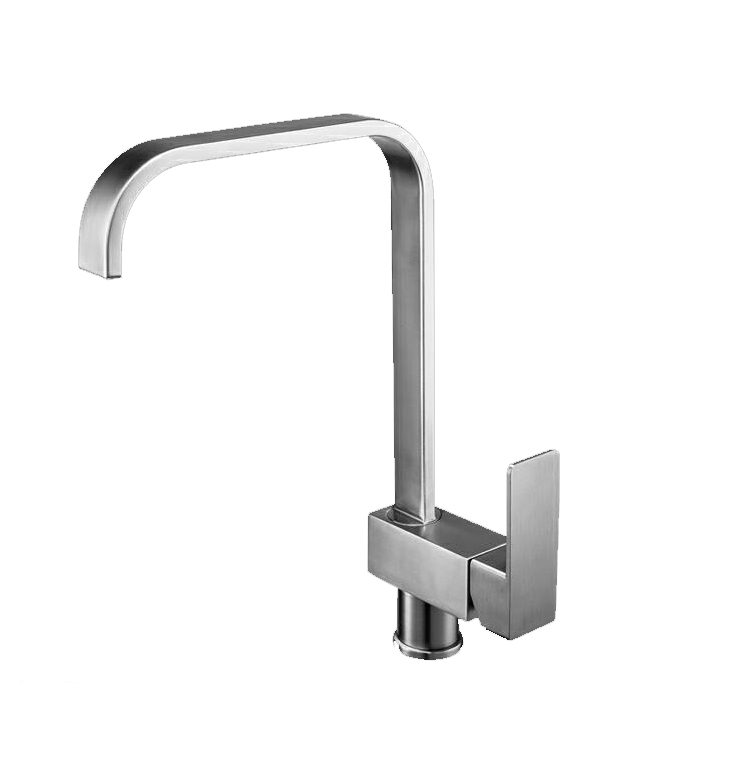2 way UPC single long handle LC-F304 brass outdoor kitchen faucet