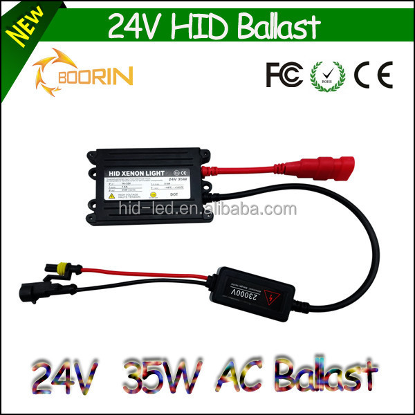 Wholesale white and black color 12v 24v AC car 35w hid ballast repair kit