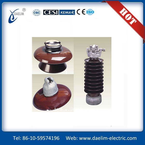 Manufacture Aerodynamic Suspension Porcelain Insulator