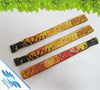 slap on reflective VIP party promotional woven wristband for sports