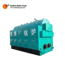 Three return biomass fired steam boiler alcohol distillation wood boiler