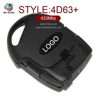 wholesale smart keys for ford fiesta 2008 transponder keys 433mhz with 4d63+ chips [AK018031]