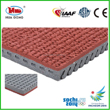 IAAF approved tasteless rubber flooring for rubber runway