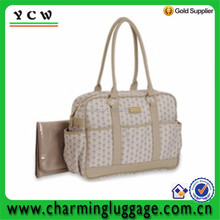Hot Sale Durable Shoulder recycled polyester Diaper Bag