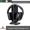 2.4GHz digital Hi-Fi wireless headphone with charging base for laptop/TV/computer