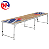 8' Inflatable Beer Pong Table with Basketball Design