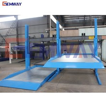 Top quality electric hydraulic car two post auto parking lift for sale