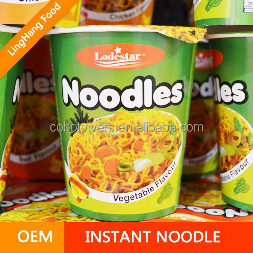 Good Quality Hot & Sour Shrimp Flavor Flavor instant Noodle In Cup