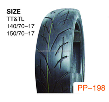 coloured motorcycle tyre made in china 150-70-17 140-80-18 140-70-18