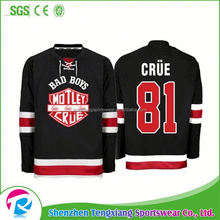 2017 China Factory Authentic Wholesale Ice Hockey Cheap Practice Jerseys