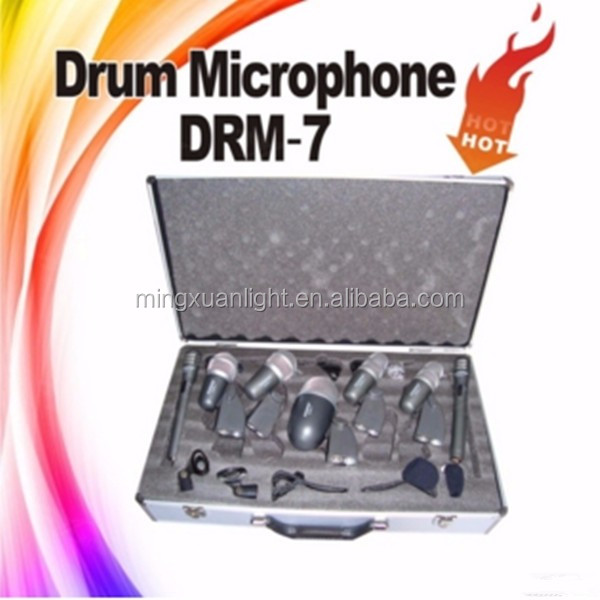 DRM-7 Professional Wired Multi-Function Drum Microphone set