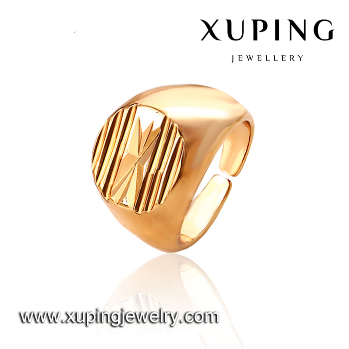 12743-xuping fashion latest gold ring designs for men