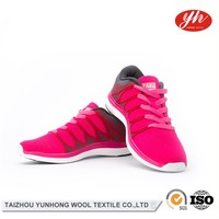 China Wholesale Sport Running Fly Knit Summer Shoes Woman