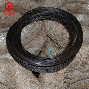 black annealed iron wire / twisted soft annealed black iron binding wire