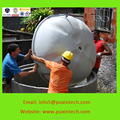 PUXIN bioreactor industrial Small Biogas/Family Biogas Plant/Mini Biogas Digetster