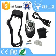 Factory dog collar trainer, best leather electronic dog training collars with 1000m remote control