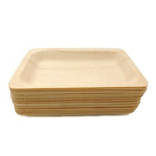 Disposable Rectangular wood <strong>plate</strong> 5.5'' * 8'' - 200pcs/pack