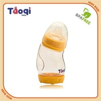Custom Food Grade Liquid Silicone & PPSU Integrated Baby bottle
