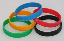Dongguan factory Fashional rohs silicone bracelet/bands