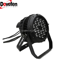 Pro DMX RGBW 4in1 Wash Par Light Can LED Waterproof Stage Lighting