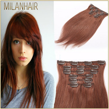 Hot Sale New Product Factory Price Wholesale 7A Brazilian Natural Clip Human Hair Bangs Extension