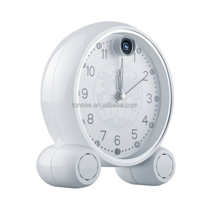 top WIRELESS Alarm clock camera like a spy camera can free mobile view