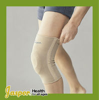 JASPER Knitting Knee Support/ Knee Brace with Silicon Pad