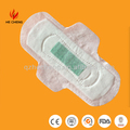 OEM Negative ion wing antibacterial sanitary napkins for girls