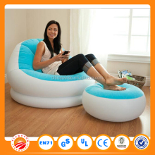 home furniture orange/blue/purple/grey color inflatable sofa