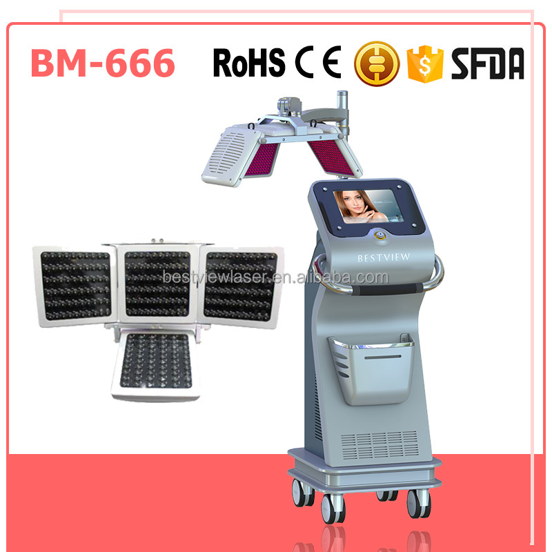 Most Effective Light Power 0-140mw Stop Excessive Hair Loss Machine