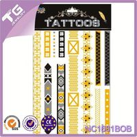 Glitter Body Tattoos,Islamic And Arabic Wall Stickers,New Product Tattoo Sticker