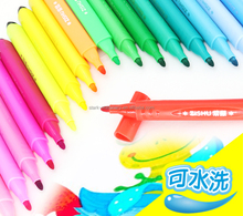 12/18/24/36 color triangle washable water color pen set with non-toxic ink,water colour pen,watercolor pen