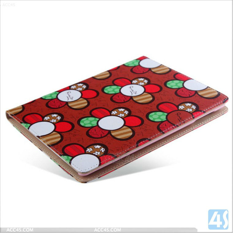 Made in China Cute Leather Case for iPad 2 3 4 P-iPAD234CASE083